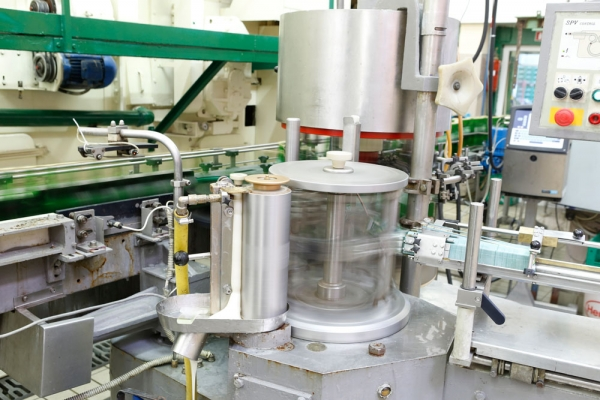 Production process – Mineral water