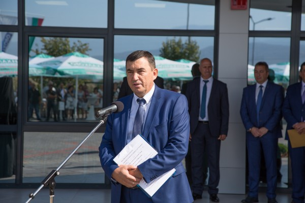 Открытие Логистического центра «Михалково»